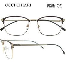 OCCI CHIARI оптические очки женские высококачественные TR90 очки оправа очки с бесцветными линзами близорукость Gafas W-CERIPA(Китай)