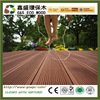 High quality and long life outdoor use wpc decks price anti-slip wood plastic composite flooring