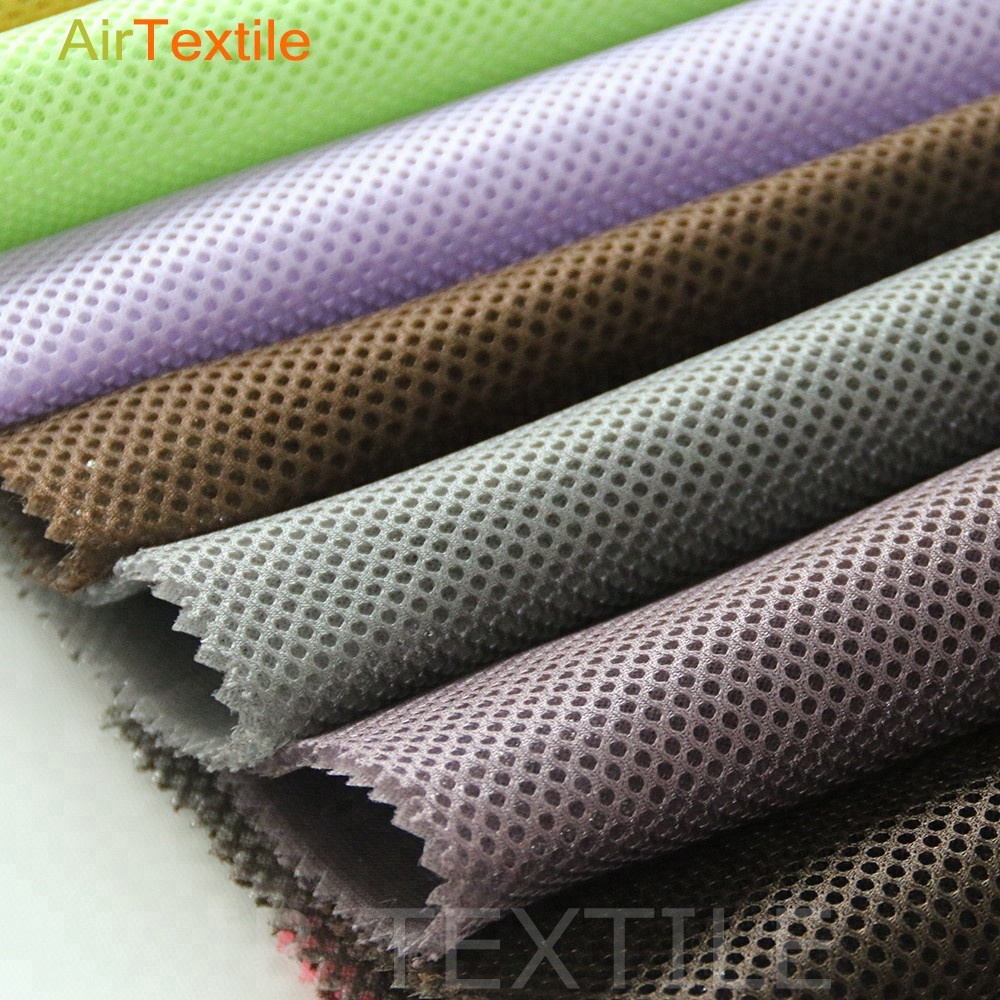 polyester backpad mesh 3d knitted spacer <strong>fabric</strong>