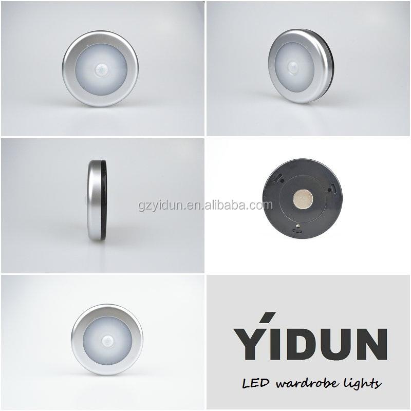 battery powered led puck lights under shelf lighting in office