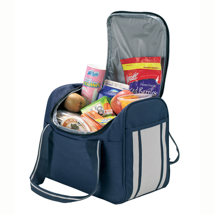 New design lunch bag cooler box insulated popular large function cooler bag