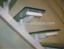 tempered glass step/safety glass footplate