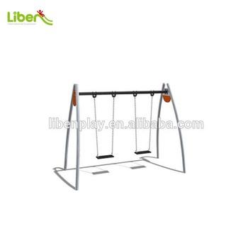 Galvanized Steel Outdoor Modern Swing Set For Kids Description Of