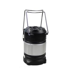Red and white light Extensible 3W LED camping lanterns