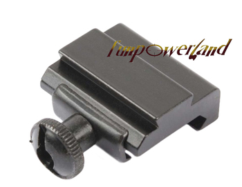 "Funpowerland Tactical Machined Aluminum QD Quick Detach Weaver - Picatinny 7/8"" To Dovetail 3/8"" 11mm Rail Adapter Mount"