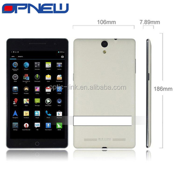 7 inch ips 3g phablet android 4.4 phone tablet pc dual sim 4 bands