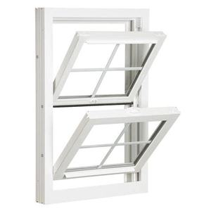 American style aluminum double glazed single/double hung window