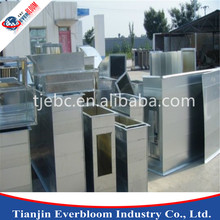 Factory price HVAC system air duct rectangular duct