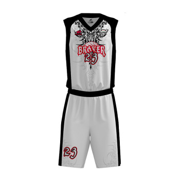 e1d0339b57a Zhouka Customize Basketball Jerseys Design Black And White Custom  Basketball Shorts With Pockets Basketball Uniform Jersey