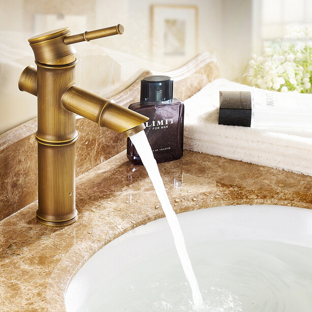 Retro Waterfall Kitchen Faucets
