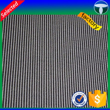Black white stripe fabric for T shirt