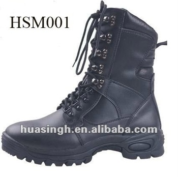 XY,High-grade Motorbike Panoply Black Combat Boots