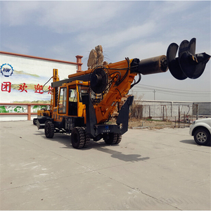 Earth auger drilling machine rotary piling rig for sale