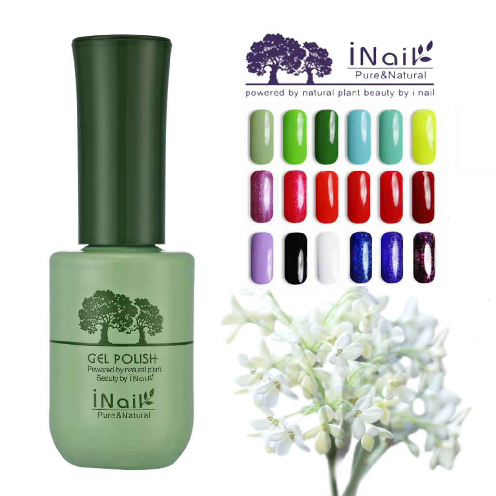 6pcs free shipping Inail osmanthus Aroma fragrance charming Gel Polish 15ml 78 colors for choice