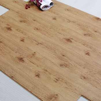 Cherry Oak Wood Look Texture Middle Embossed Laminate Flooring