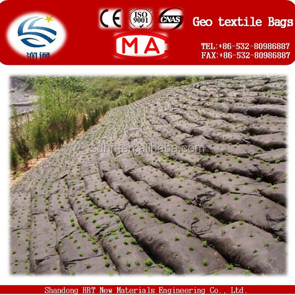 Nonwoven Geotextile Sand Bags For River Bank