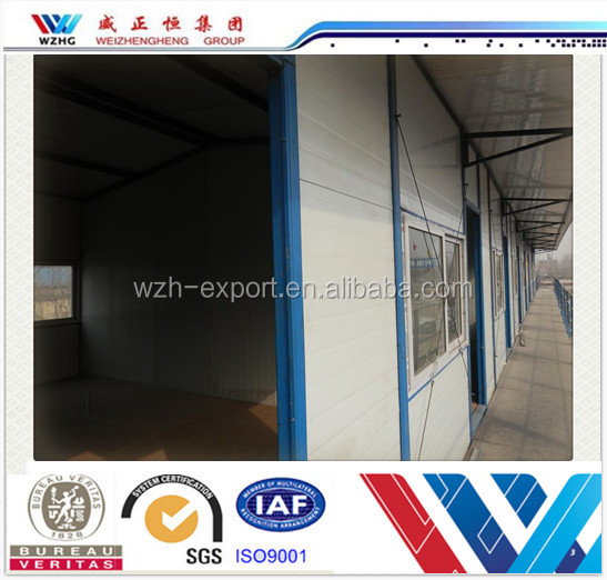 China fast built prefab house for villa,workshop, office, restaurant, made house for living and working, movable panel house