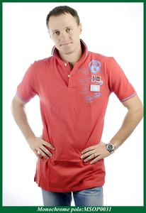 US 100% cotton t-shirt men polo without clothes for sale