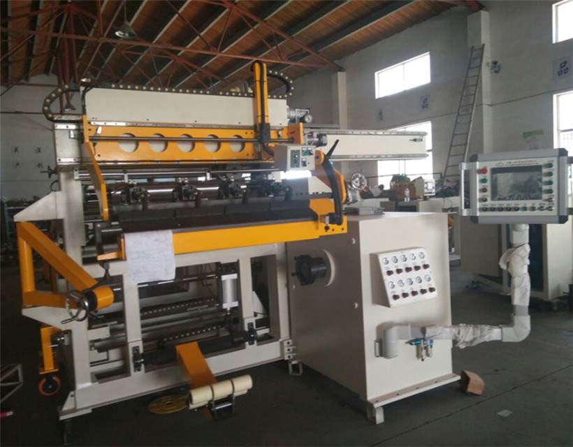 Automatic Transformer Winding Machine Coil with Copper Foil