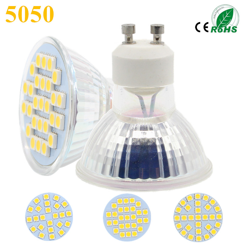 new lampada led lamp e27 220v smd 5050 ampoule led spotlight gu10 bombillas led bulb 220v spot. Black Bedroom Furniture Sets. Home Design Ideas