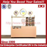 special design acrylic eyewear display stand with mirror