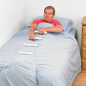 Patterson Medical Rope Ladder Bed Hoist - Help Sitting up in Bed