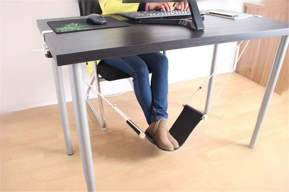 Get Quotations Yxiuer Guoyajf Adjule Office Foot Rest Under Desk Hammock Footrest