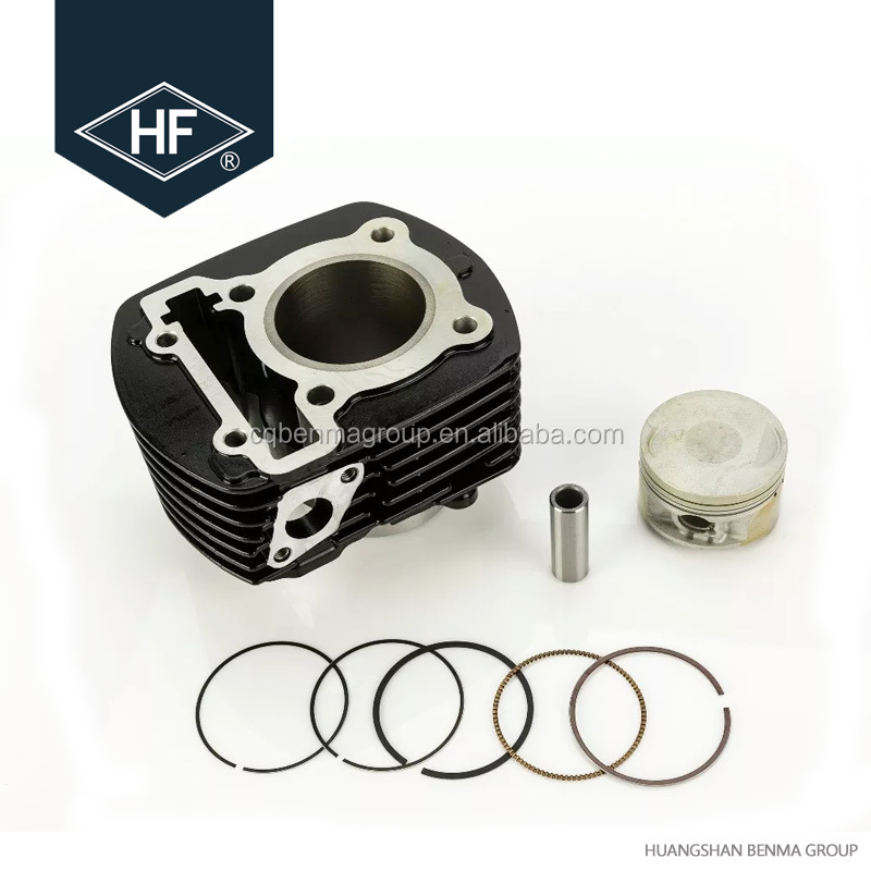 FZ16 Motorcycle Engine Parts Cylinder Kit With Piston And Gasket Set