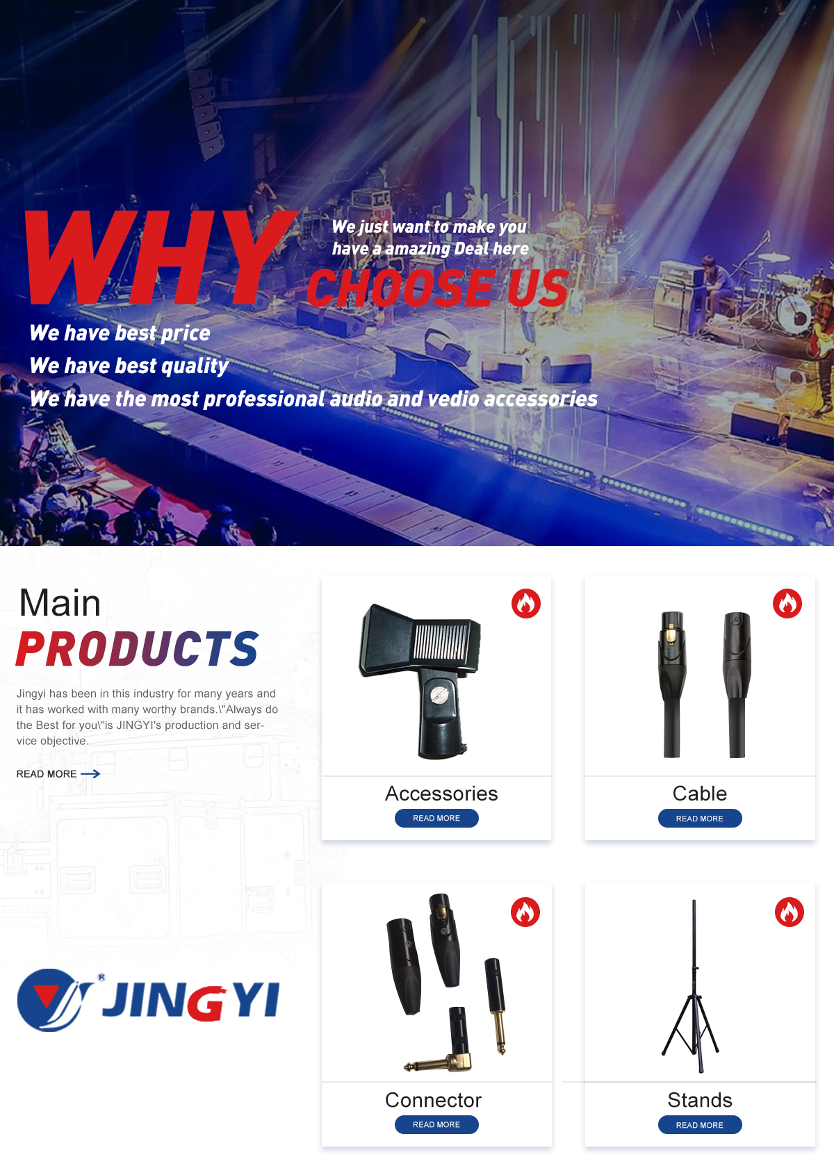 Ningbo Jingyi Electronic Co Ltd Audio Connector Stage Kabel Mic Mono Kecil 20 Meter It Is A Member Of Association Group Goods And Material Chinese Theatrical Festival The Factory Site About 7000 Square Meters