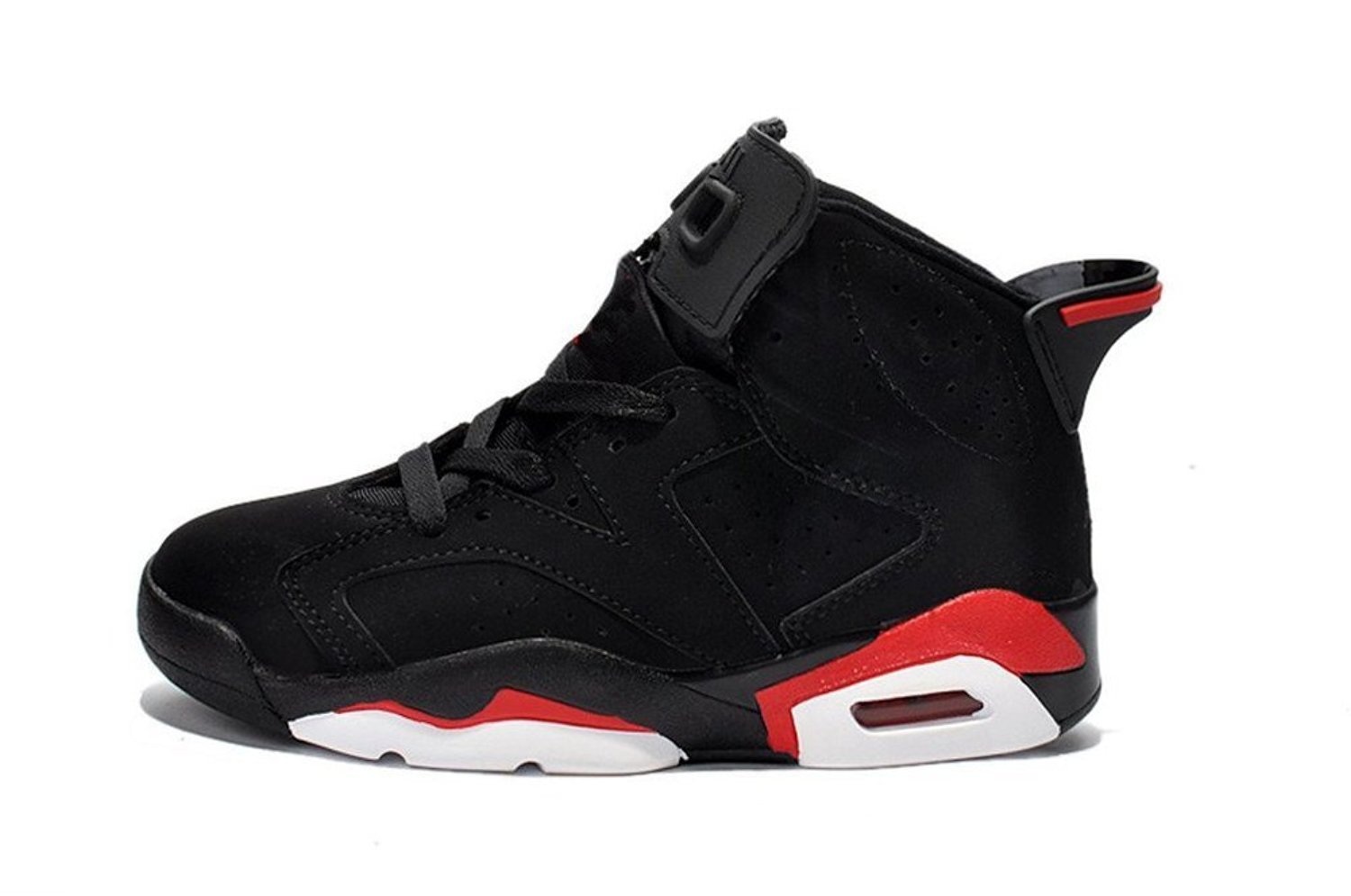 154185bbe192d1 Air 6 Retro MAMA® Black Infrared AJ6 Basketball Shoes for Girs and Boys  (Little