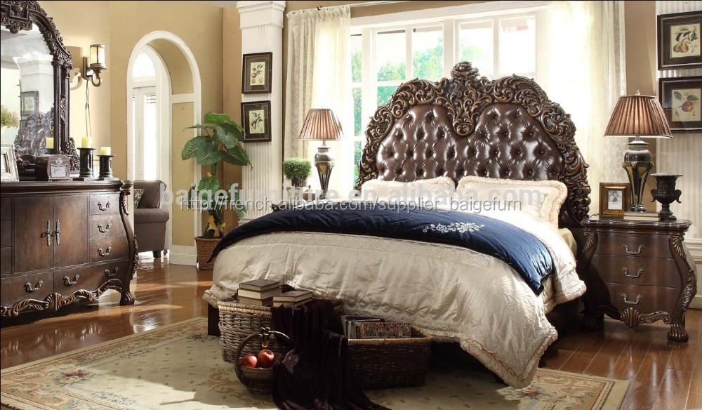 Bd-1201 chine mobilier de chambre lit king size modèles-Lots de ...