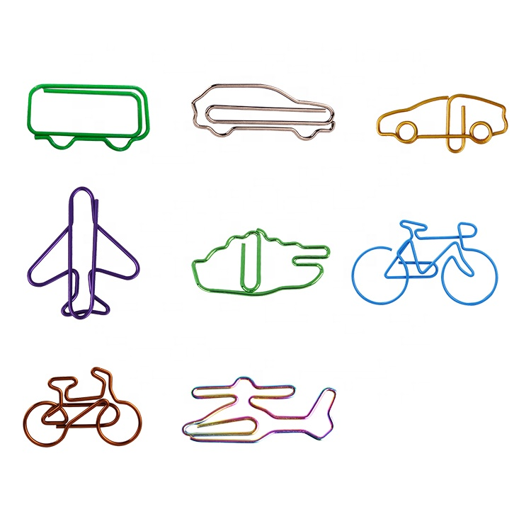 Custom paper clip different shapes paper clips different sizes animal paper clip