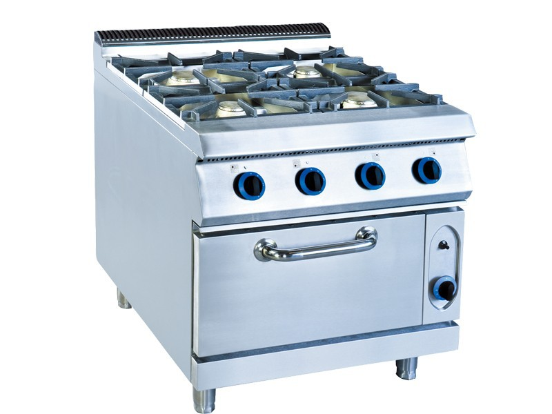 Restaurant Kitchen Gas Stove gas cooking range with oven, gas cooking range with oven suppliers