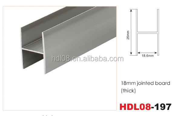 Hervorragend Aluminium H Profile 18mm, Aluminium H Profile 18mm Suppliers and  TO68