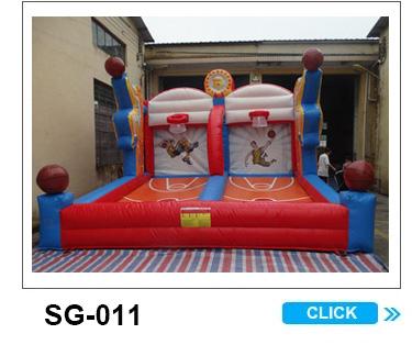 गर्म बिक्री आउटडोर खेल खेल inflatable फुटबॉल कार्निवल खेल