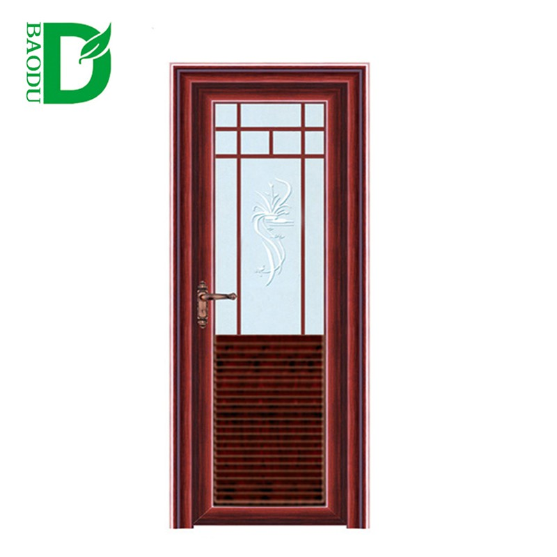 Delicieux Beautiful Aluminum Half Glass Door Design Bathroom Entry Doors   Buy  Aluminum Half Glass Door Design,Glass Bathroom Entry Doors,Aluminium Glass  Door Design ...