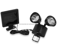Solar Two Directional Super Bright White Led Security Flood Light ...