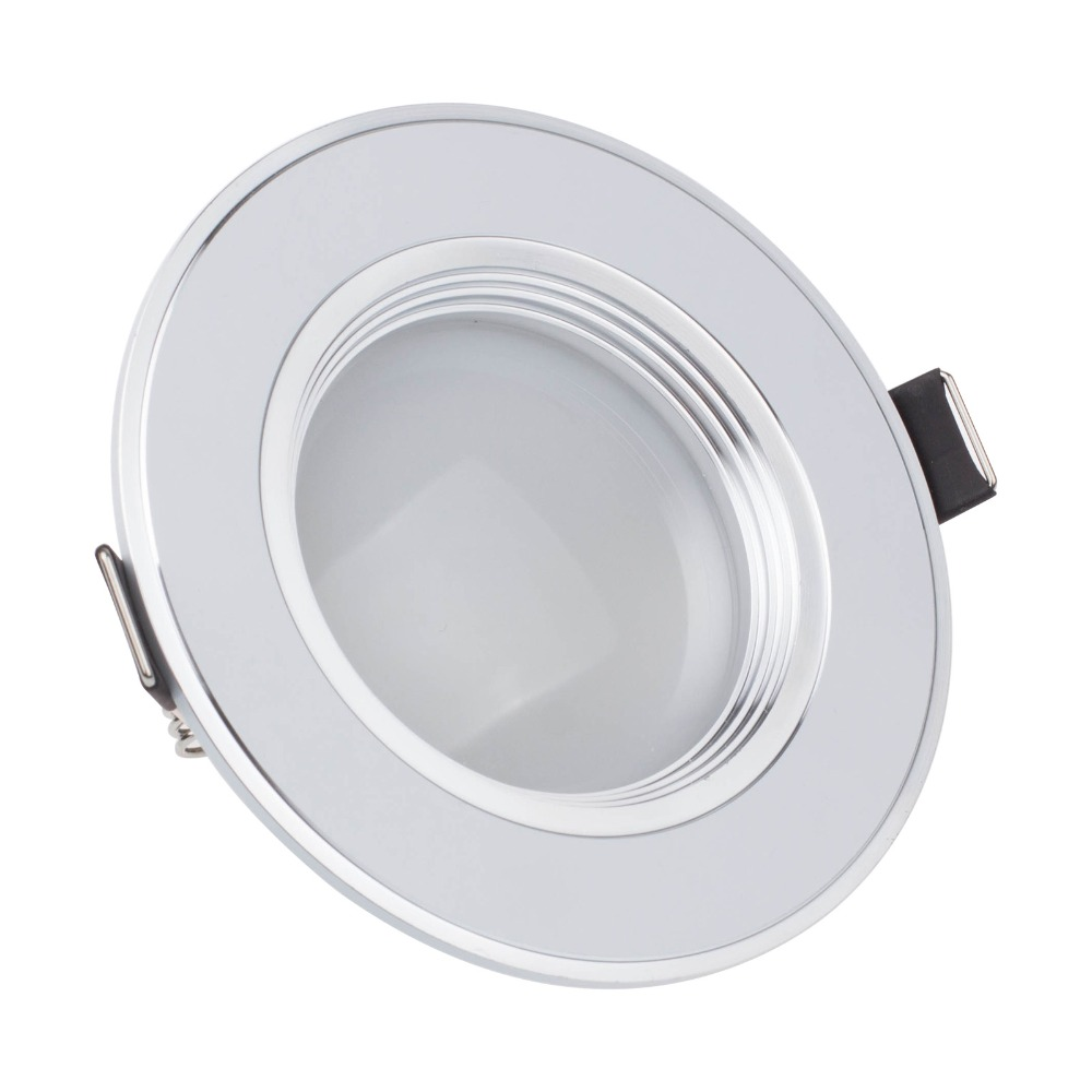 buy free shipping 3w ultra thin dimmable recessed led ceiling downlight led. Black Bedroom Furniture Sets. Home Design Ideas