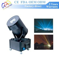 2kw 5kw 7kw Sky Rose Multi Color Beam Searchlight Outdoor Lighting