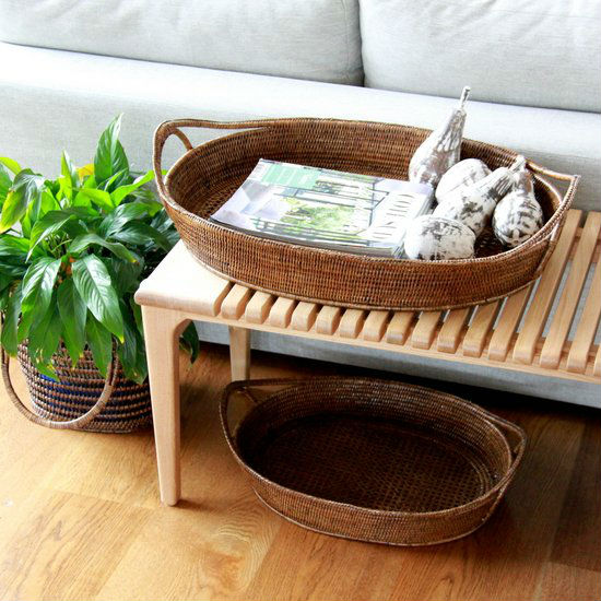 Oval Wicker Tray, Oval Wicker Tray Suppliers And Manufacturers At  Alibaba.com