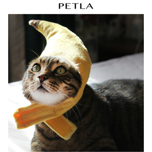 Cheap Creative Banana Shape Pet Cat Small Dogs Party Costume Accessory Pet Hat