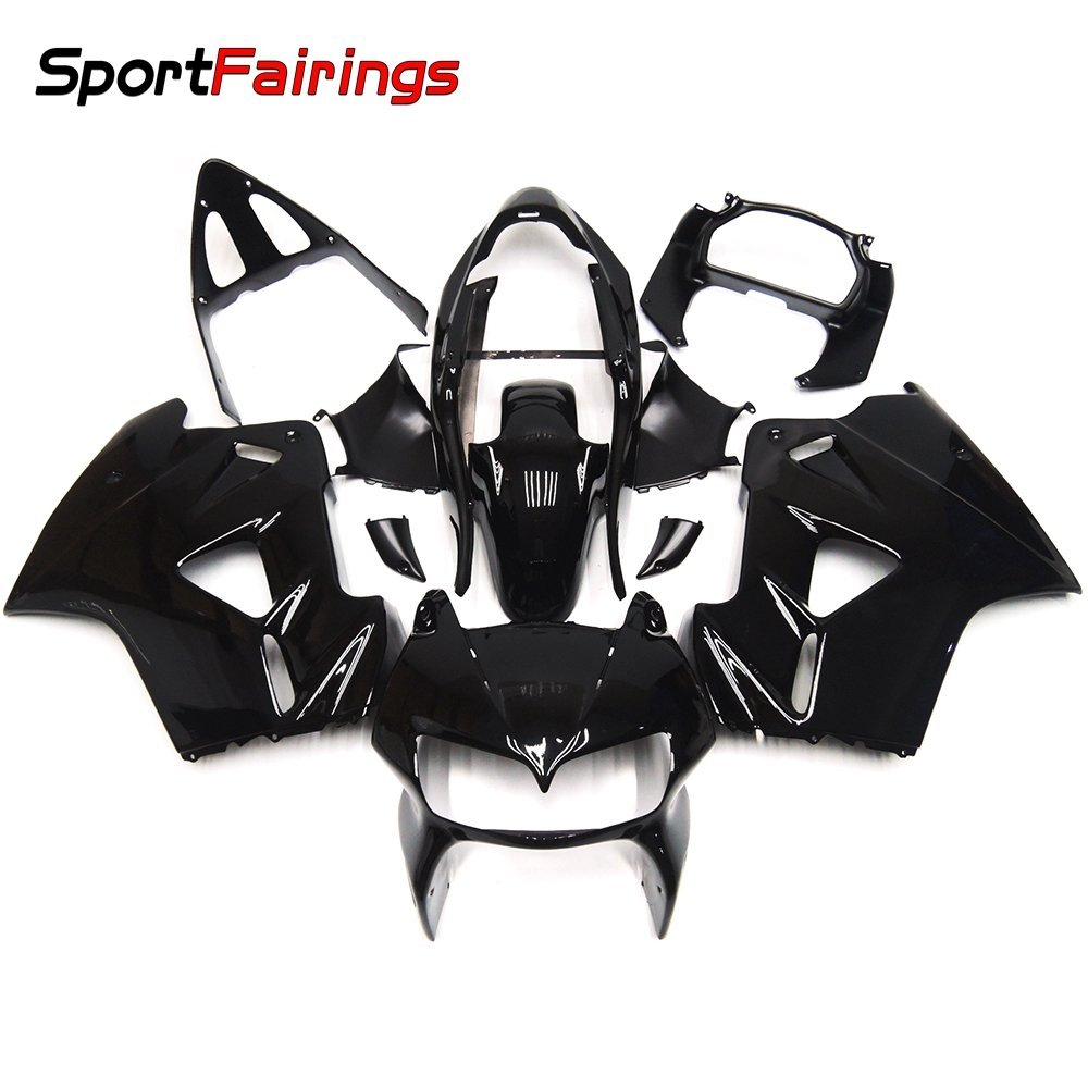 Sportfairings Full Fairing Kits For Honda VFR800 VFR800Fi RC46 1998-2001 Fairings Cowlings Gloss Black