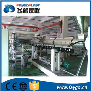 3-30mm thick 1220mm width output 350 kg/h pvc foam board production line