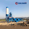 HZS25 concrete batching plant for sale, small portable concrete batching plant sale