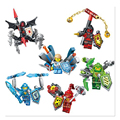 2016 new children s educational toys building block elemental Knight birthday gifts Christmas gifts free shipping