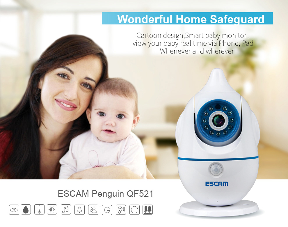 night vision baby monitor baby monitor with smart phone viewing 5.8ghz wireless baby monitor