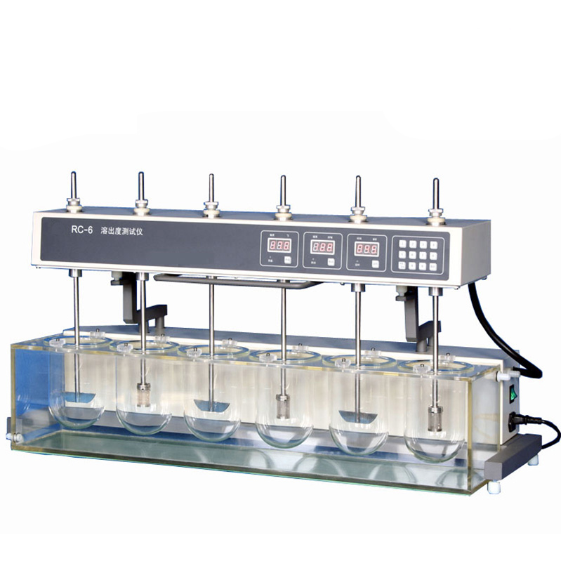 Pharmaceutical factory RC-6 dissolution tester, dissolution apparatus