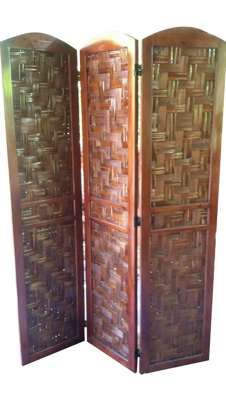Get Quotations Urnporium Room Divider Bam 3 Mah Screen Bamboo With Solid