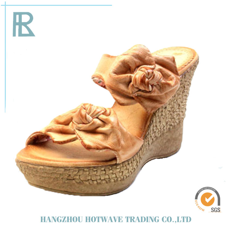 2016 China Manufacture Professional shoes women sandal wedges
