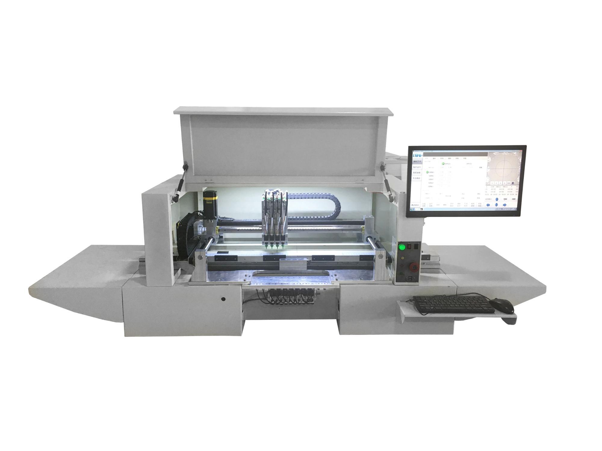 12 भक्षण एलईडी/SMD बढ़ते मशीन/पीसीबी लेने और जगह मशीन BGA Machinefor इलेक्ट्रॉनिक्स उत्पादन लाइनों आसान उपयोग उच्च गति